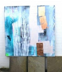 Ny stil: maleri til salg
