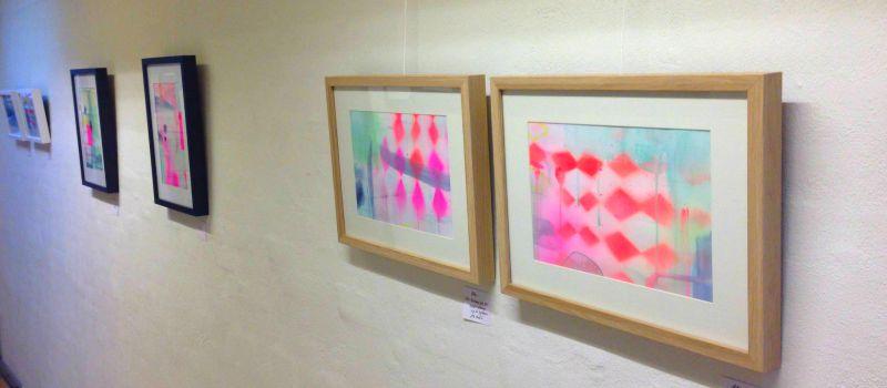 malerier på udstilling