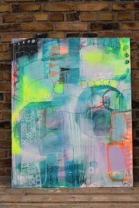 lyst maleri til salg og lidt om at tynde ud…