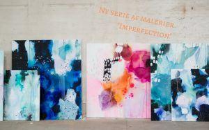 """""""Imperfection"""" – En ny serie af uperfekte malerier"""