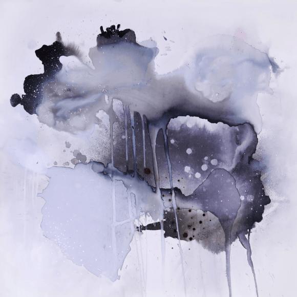 abstrakt maleri graa