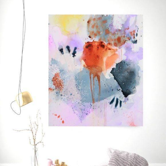 farverigt maleri