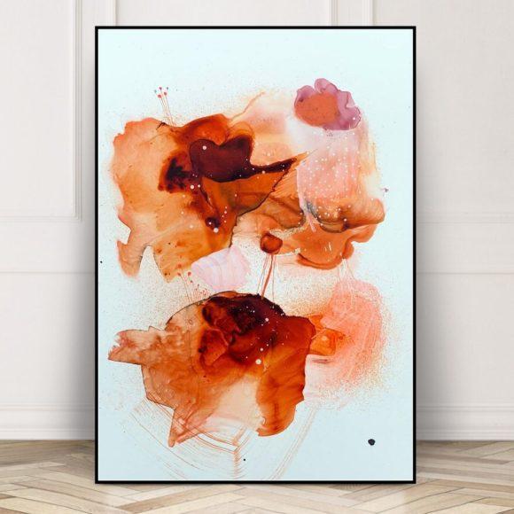 maleri braendt orange